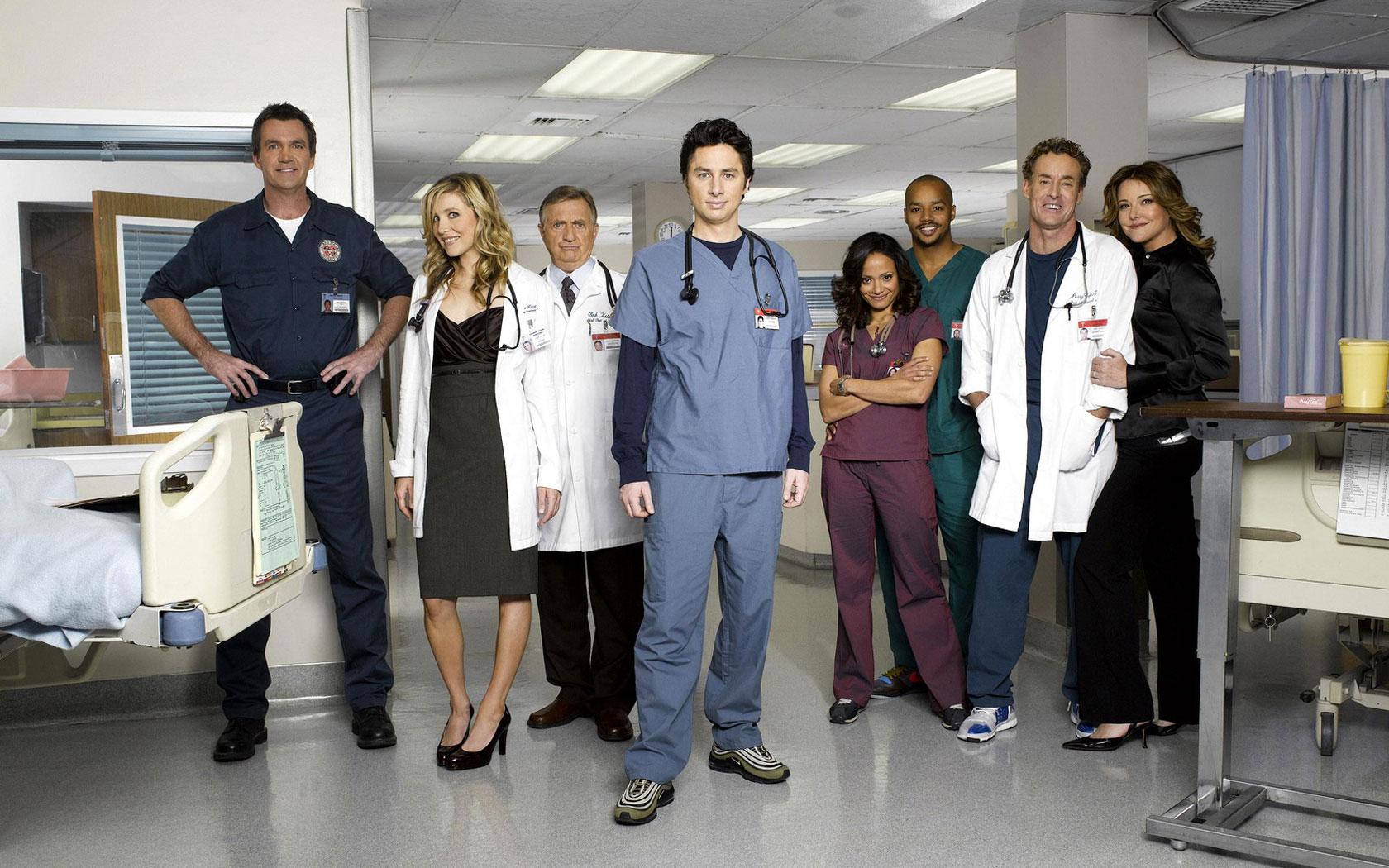 Finally caught up: scrubs
