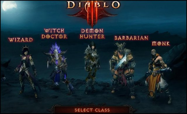 The five classes