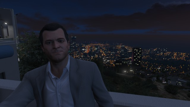 Michael wanted a selfie at the Observatory.