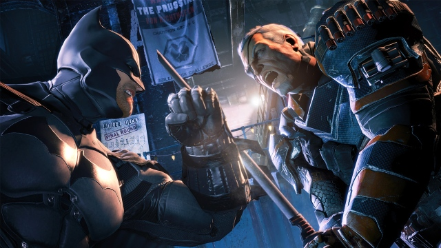 batman arkham origins deathstroke