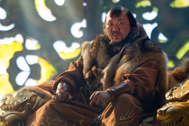Benedict Wong as Genghis Khan's grandson Kublai