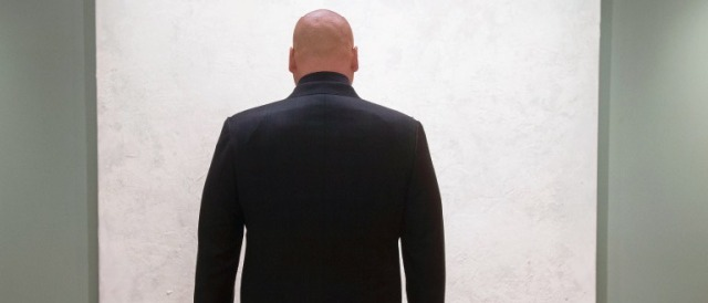 Wilson Fisk played by Vincent D'Onofrio.