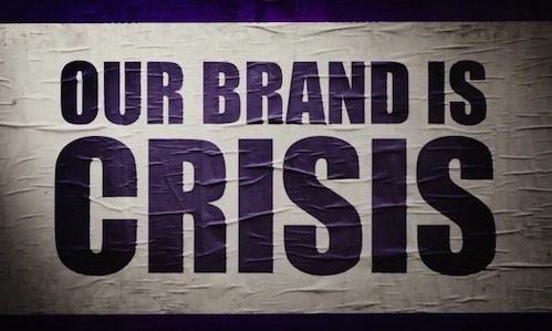 our brand is crisis header