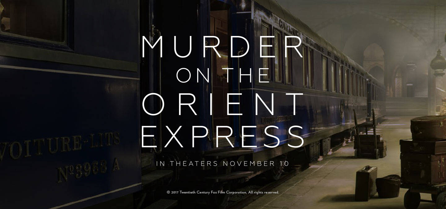 Review Murder On The Orient Express 2017 I Am Your Target Demographic